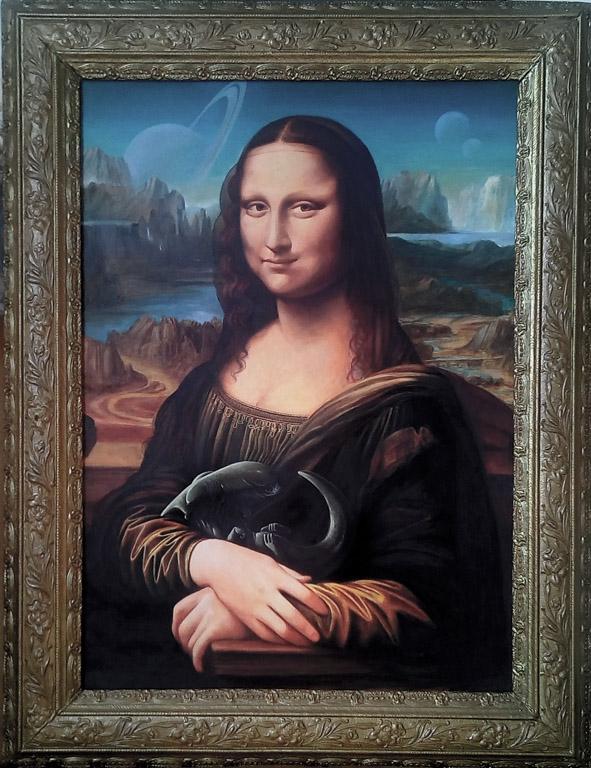 Mona Lisa por vanKristen